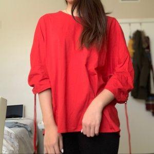 NWT ZARA Red T-shirt